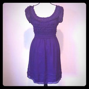Max Studio Purple Dress Sz Large